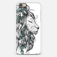 Poetic Lion Turquoise iPhone 6s case by LouJah | Casetify