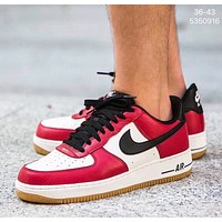 Nike air force 1'07 men's and women's low-top versatile sneakers shoes