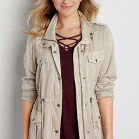 drapey anorak jacket | maurices
