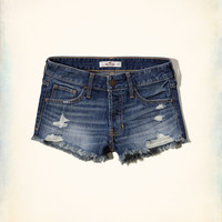 Hollister Boyfriend Denim Shorts