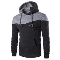 2017 Men Spring Autumn Hooded Hoodies Sweatshirt Hoodie Casual Hip Hop Male Outwear Sportswear Slim Hoody Pullover Sudaderas