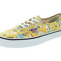 Vans Unisex Authentic (Liberty) Wonderland/Trwht Skate Shoe 6.5 Men US / 8 Women US