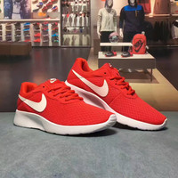"""NIKE TANJUN"" Fashion Casual Net Surface Breathable Unisex Sneakers Couple Running Shoes"