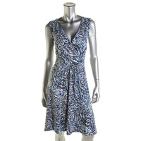 JM Collection Womens Printed Sleeveless Casual Dress