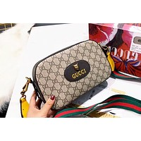 GUCCI simple retro women's shoulder bag Messenger bag