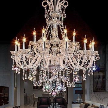 Modern Crystal Chandeliers For Living & Bedrooms