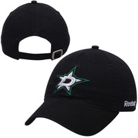 Reebok Dallas Stars Black Unstructured Slouch Hat
