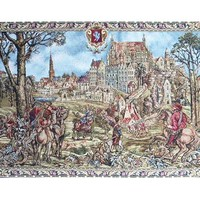Brussels Castle Tapestry Wall Art Hanging