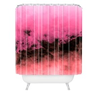 Caleb Troy Zero Visibility Highlighter Dust Shower Curtain