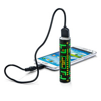 MimoPowerTube - 2,600mAh Portable Power Bank - ZombieFinger