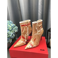Christian Louboutin Cl Ankle Boots