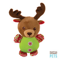 Martha Stewart Pets® Reindeer Holiday Dog Toy - Plush, Squeaker | Toys | PetSmart
