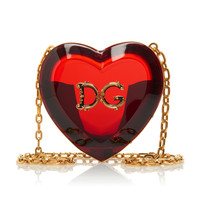 Heart-Shaped Translucent Acrylic Mini Bag | Moda Operandi