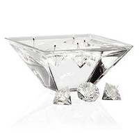 Diamond Gel Candle - Set Of 4 | Candleholders | Home Accents | Decor | Z Gallerie