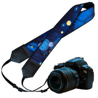 Camera strap for man who loves technical things. DSLR / SLR Camera Strap. Camera accessories. Nikon Canon Fuji Sony camera strap.