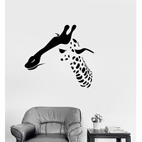 Vinyl Decal Giraffe African Animals Children's Room Kids Decor Wall Stickers Unique Gift (ig2693)