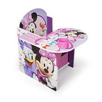 Disney Minnie Mouse Desk and Chair with Storage Bin
