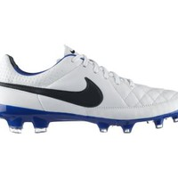 Nike Tiempo Legacy Men's Firm-Ground Soccer Cleats - White