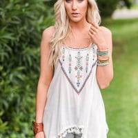 Eclipse Tassel Trim Tank