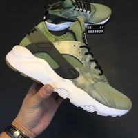 Day-First™ Nike huarache black on camouflage Sneakers Sport Shoes