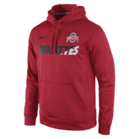 Nike Sideline KO Fleece Pullover (Ohio State) Men's Training Hoodie
