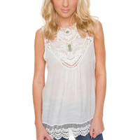 Wren Lace Top