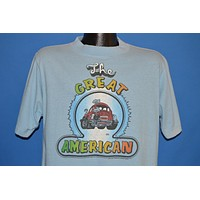 70s The Great American Volkswagen Beetle t-shirt Large