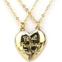 """The Love of pretty — """"Best fucking friends"""" necklace"""