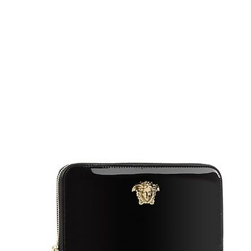 Versace - Palazzo patent leather wallet