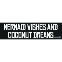 Rip Curl Mermaid Wishes Sticker Black One Size For Men 25627110001