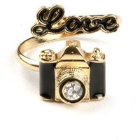 I Heart Photography Ring | Cute Rings at Pink Ice