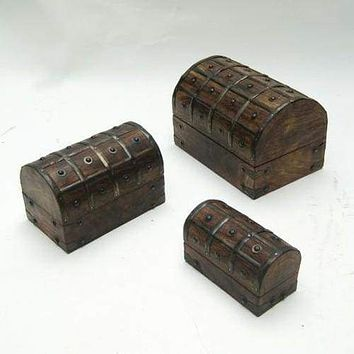 Debrecen Nested Pirate Chest Set, Fetching And Long-lasting Home decor