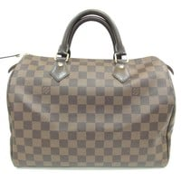 Authentic LOUIS VUITTON Speedy 30 handbag Damier N41364