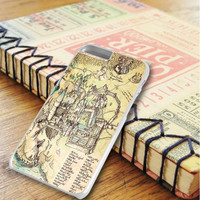Hogwarts Map School iPhone 6 Plus | iPhone 6S Plus Case