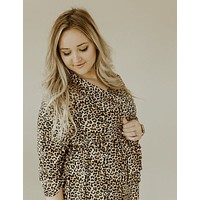 Leopard Mommy Robe