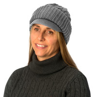 Evelots Womens Cable Knitted Form Fitting Winter Hat Comfortable,Assorted Colors