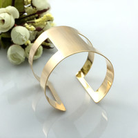 New Arrival Shiny Jewelry Metal Ring Stylish Strong Character Bangle [6324478660]