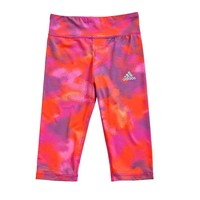 adidas climalite Printed Active Tights - Toddler Girl, Size: