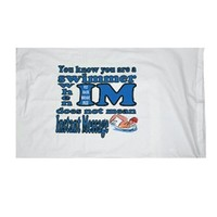 1Line Sports I.M Swimmer Pillow Case at Swimoutlet.com