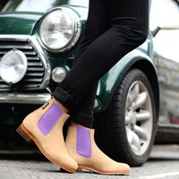 Handmade Chelsea Boot for women - can be personalised.
