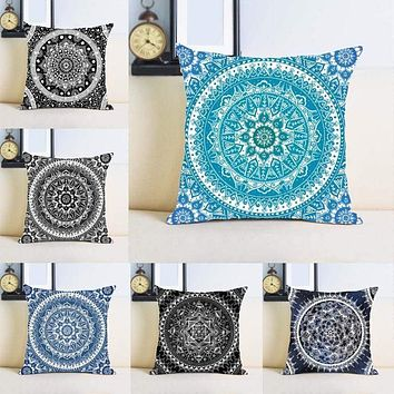Mandala Pattern Cushion Cover