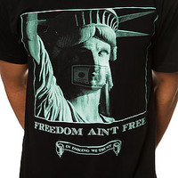 The Freedom Ain't Free T-Shirt in Black