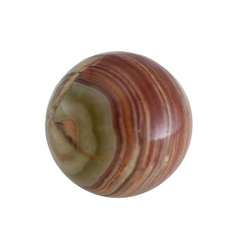 Exquisite Antique Natural Banded Marble 28mm Beautiful Colors Marble Collector