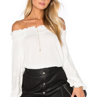 Lost in Lunar Casablanca Top in White | REVOLVE