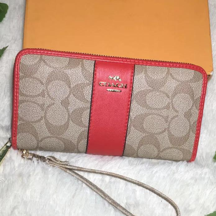 Image of Coach Women Sell well Fashion Print Wallet Purse