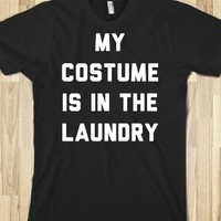My Costume is in the Laundry