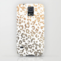 GOLD LEO Galaxy S5 Case by Monika Strigel