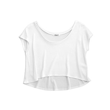 Short Sleeve Thermal Crop Top