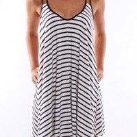 Forty Knots Dress White