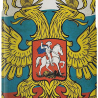 'Waving flag of Russia' iPhone-Hülle/Skin by pASob-dESIGN